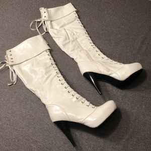 Refresh Over The Knee High Heel Boots